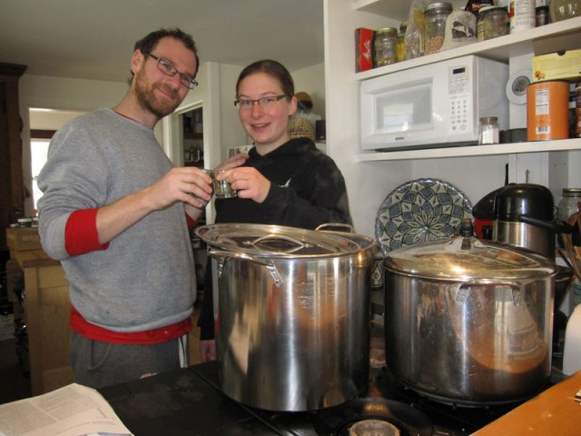Brewing maple sap beer