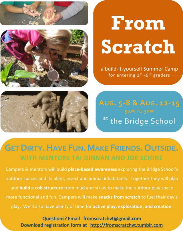 From Scratch Summer Camp Vermont