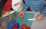 Kids-Chopping-Tomatoes