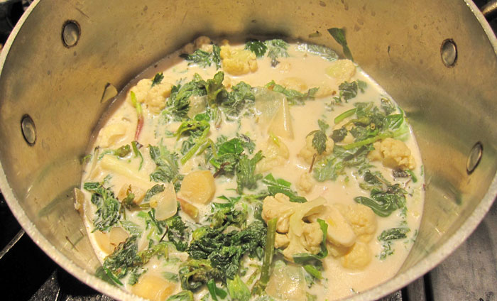 Sunchoke Ramp And Nettle Soup Recipe — Dishmaps
