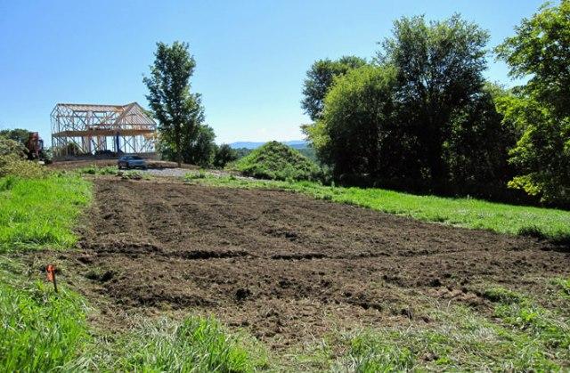 New house.  New Garden!