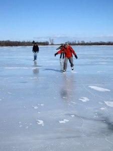 Skating on Dead Creek