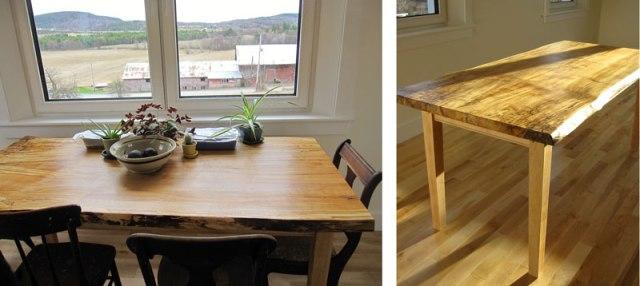 Have we mentioned that we love our sunny dining room table?  Awesome work Michael!
