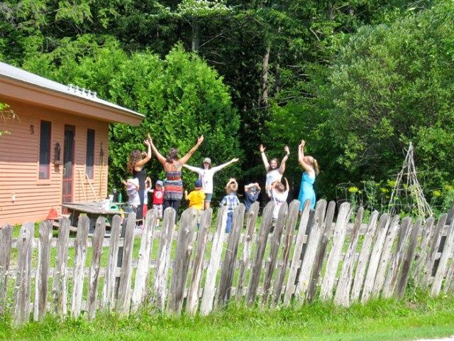 Children's Garden Opening Circle