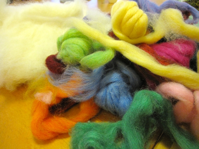 wool-roving