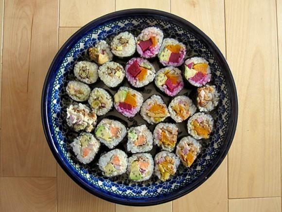 homemade-sushi-platter