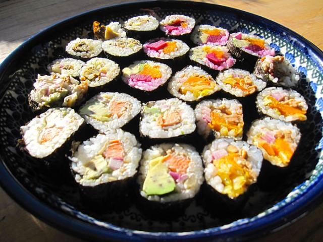 homemade-sushi