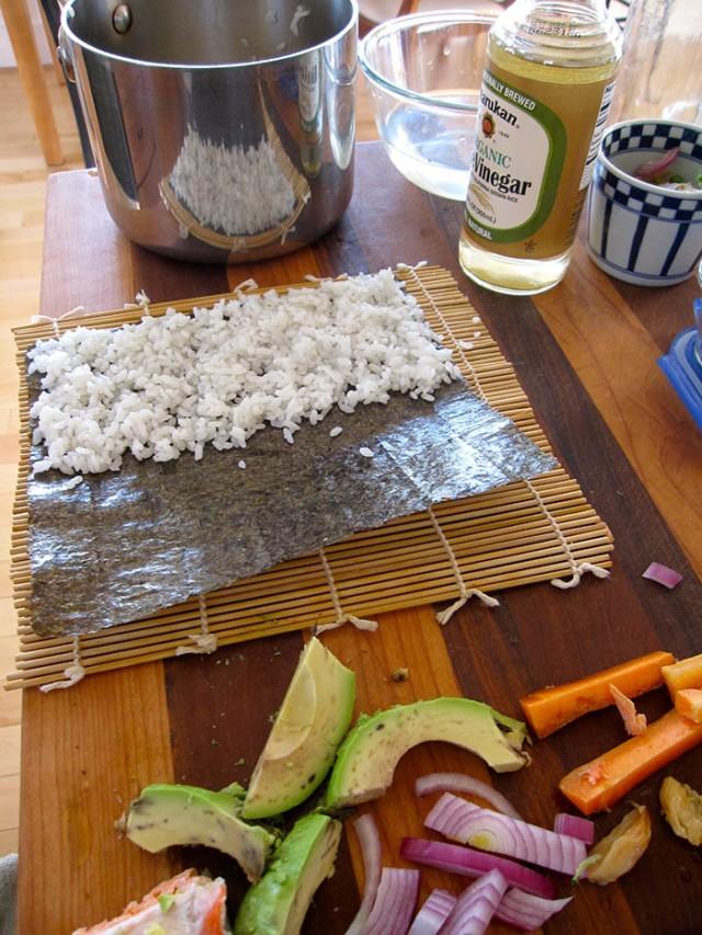 making-sushi-at-home