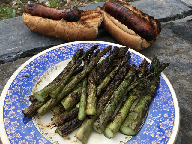 asperagus grilled